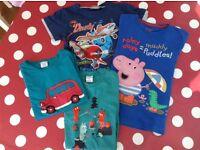 T-shirt bundle, 3-4/4-5yo POP, M&S, Disney