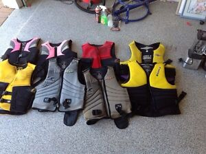Life Jackets assorted sizes and type. Some PFD 2 and some PFD 3. Redcliffe Redcliffe Area Preview