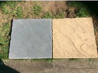Great and yellow paving slabs for sale