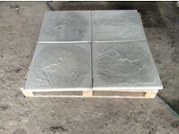 Straight edge 2x2 / 600x600 paving slabs