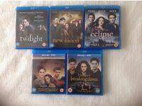 Twilight saga blu rays