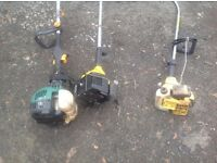 petrol strimmers job lot spares or repairs