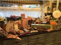 Large selection of baking and cake decorating items