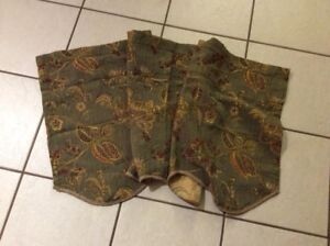 Set of two valances both for $10