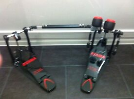 Special Edition Black IRON COBRA Double Bass Pedal