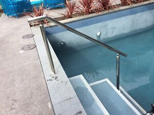 Swimming Pool hand rail stainless steel City Beach Cambridge Area Preview
