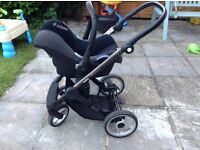 MUTSY EVO 3 in 1 PRAM AND CARRYCOT