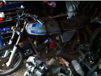 Suzuki GSX250 Project 1981
