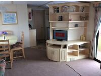 3 bedroom static Caravan for hire at 7 lakes country park north linconshire