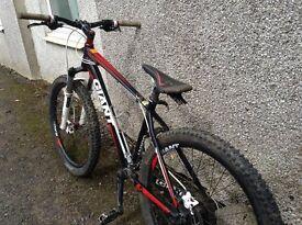 "Giant 26"" XTC Hardtail Mountain Bike"