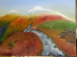 "Oil Painting ""Mount of ARARAT """