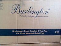 Burlington P18 WC toilet pan