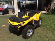 Can-am 500 DPS Outlander 4x4 quad bike Heatley Townsville City Preview