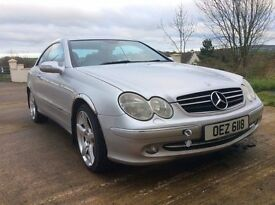 **PRICE DROP**SILVER MERCEDES 2003 COUPE COMFORTABLE, GREAT DRIVING CAR 170,000 MILES £2149 ONO