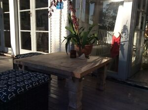 Square coffee table- 100x100x50cm high Avalon Pittwater Area Preview