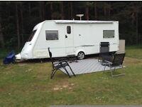 FLEETWOOD VANLANDER 560/4 4 BERTH 2 FIXED SINGLE BEDS 2005