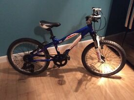 Children's carrera mountain bike