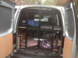 van dog cage made to measure 3 or 4 dog to suite your van