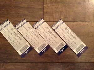 Various Brier Tickets x 2 - NL Games. See ad