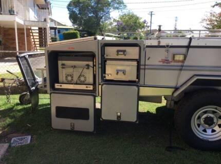 Aussie swag Ultra luxury camper