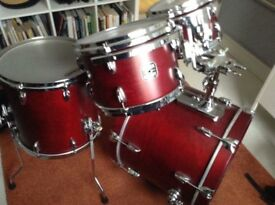 Gretsch USA Custom 4-Piece Shell Pack in Satin Rosewood
