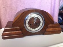 Wooden mantle clock Bargo Wollondilly Area Preview