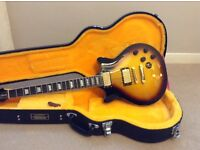 Epiphone Genesis deluxe pro electric guitar limited edition (Like a Les Paul) with hard flight case