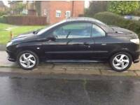Peugeot 206cc 2ltr. Full years MOT!!!