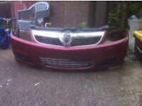 Vectra facelift bumper