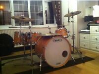 Mapex Pro M Drum Kit - Includes full set of Le Blond cases