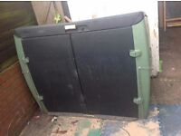 Xl garden storage box fully lockable vg cond fully jet washed pu M6 or deliver