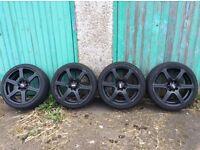 17 inch black ripseed alloys