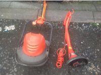 Lawnmowers & strimer
