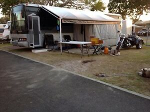 Motor home Mercedes -36ft and trailer Tootgarook Mornington Peninsula Preview