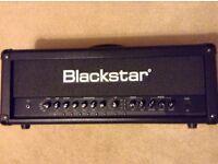 Blackstar id100 tvp amplifier head for electric guitar black 100 watts true valve power