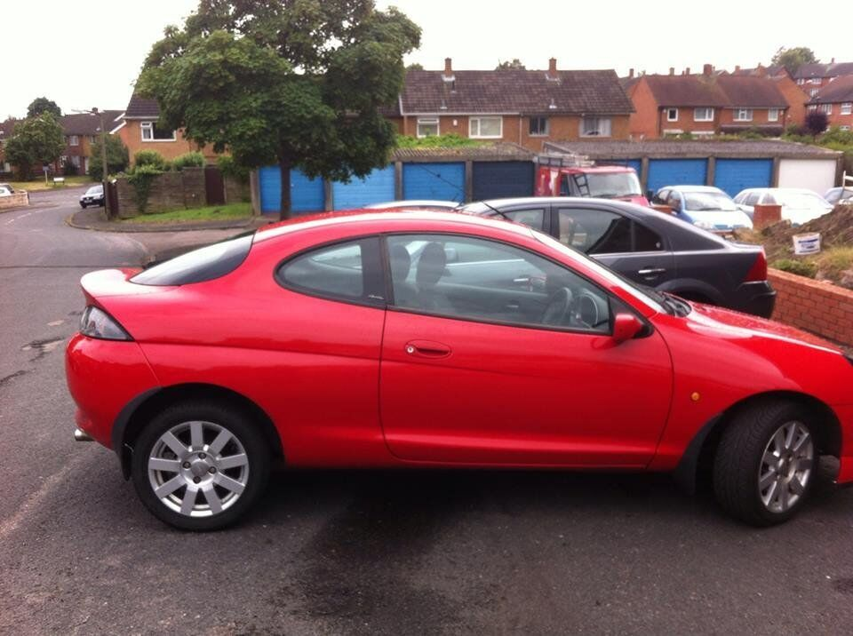 ford puma 1 7 16v red no mot selling for spears in. Black Bedroom Furniture Sets. Home Design Ideas