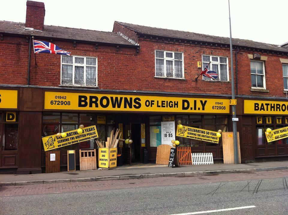 Browns DIY