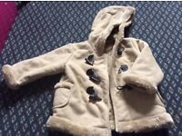 New Girls coat 2-3years? 90cm height