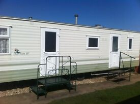 2 Bed (6 berth) Caravan 46 North Happy Days Holiday Homes