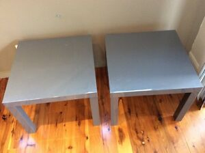 Ikea Lack Side Tables x2 Lilyfield Leichhardt Area Preview