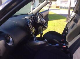 Black Nissan Juke diesel Acenta Premium DCI 2012 reg - 110,000 miles. Very economical