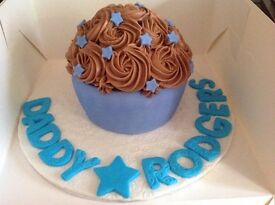 Father's Day Cupcakes, Cakes and Giant Cupcakes