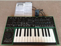 Roland System 1 with additional Plugout synth installed.
