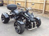 Spy 250cc Road Legal Quad