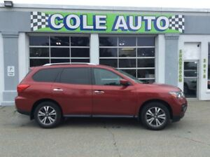 2017 Nissan Pathfinder SV REDUCED! Hard to find Red