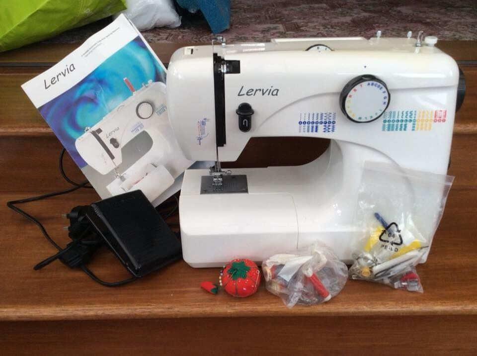 Sewing Machine Lervia KH40 Fully Functional With Tools Awesome Lervia Sewing Machine Instructions
