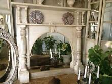 """SOLD P P/U... """"Champagne & Caviar!!"""" Vintage Fireplace / Mirror Butler Wanneroo Area Preview"""