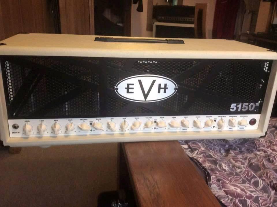 EVH III 100W Head in Ivory