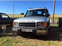 DISCOVERY 2, 2003, TDI 2.5L, NEW MOT, GREAT CONDITION, 7 SEATER, £3,100, WOODINGDEAN.