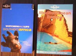 3x Books:  2x Lonely Planet and 1x Travel / Adventure / Comedy Mascot Rockdale Area Preview